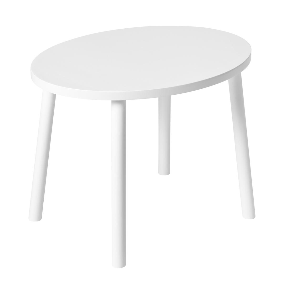 Nofred børnebord Mouse Table, hvid
