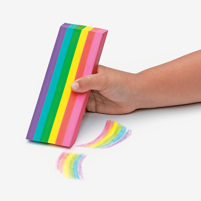 Image of   Ooly jumbo viskelæder med duft, rainbow