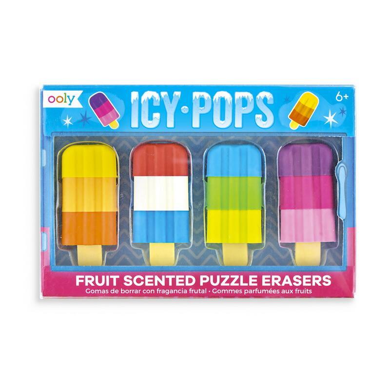 Image of   Ooly viskelæder pakke, Icy Pops