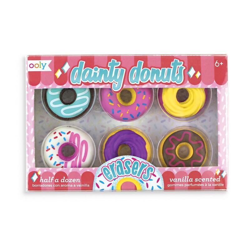Image of   Ooly viskelæder pakke, donuts
