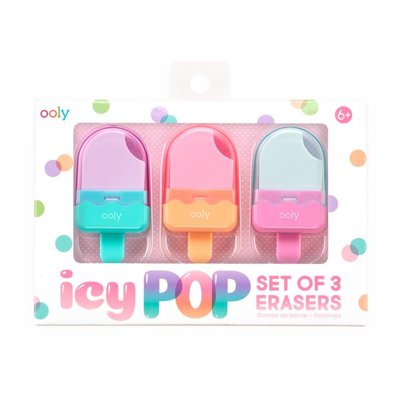 Ooly viskelædere, Icy Pop
