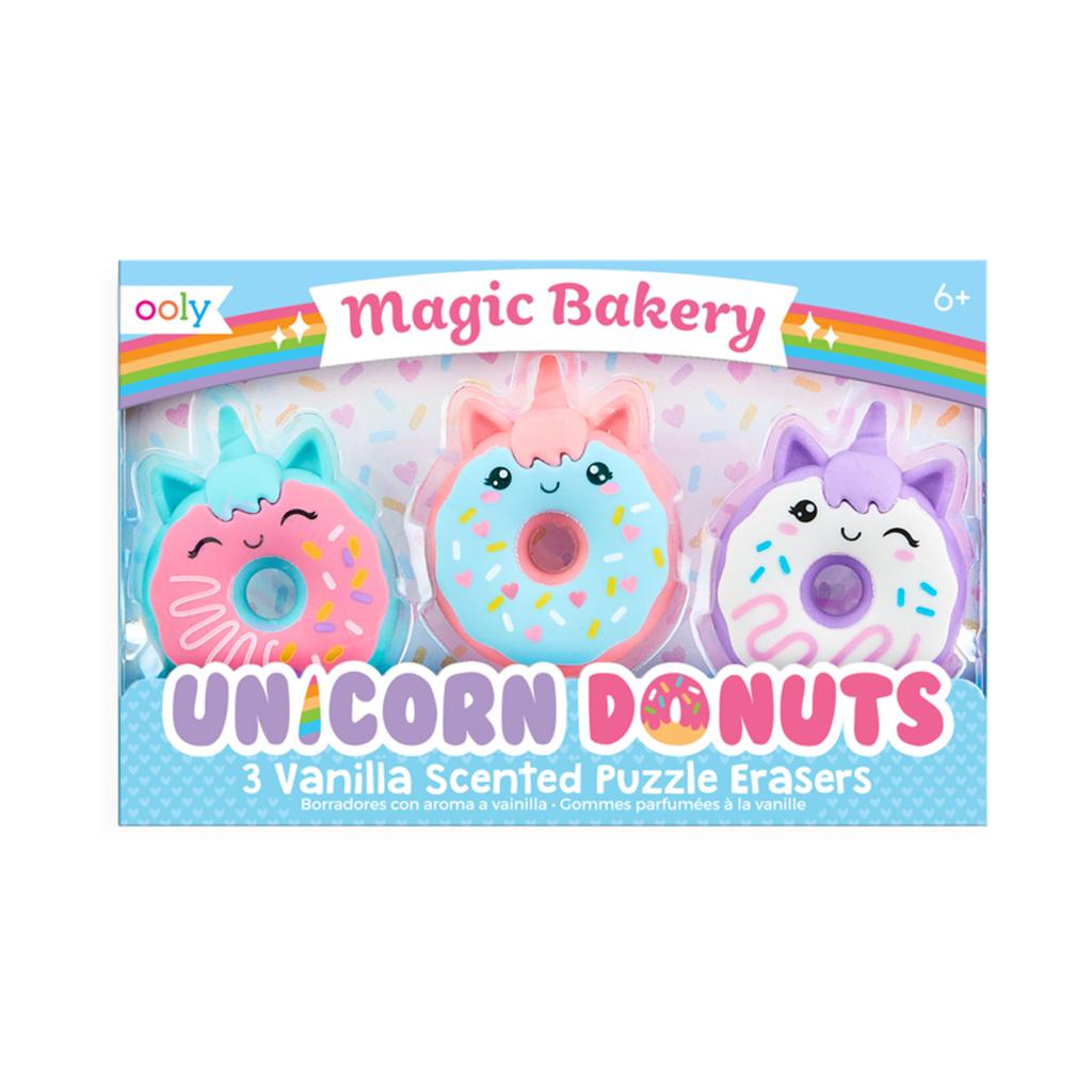 Image of   Ooly viskelædersæt med duft, Unicorn Donuts