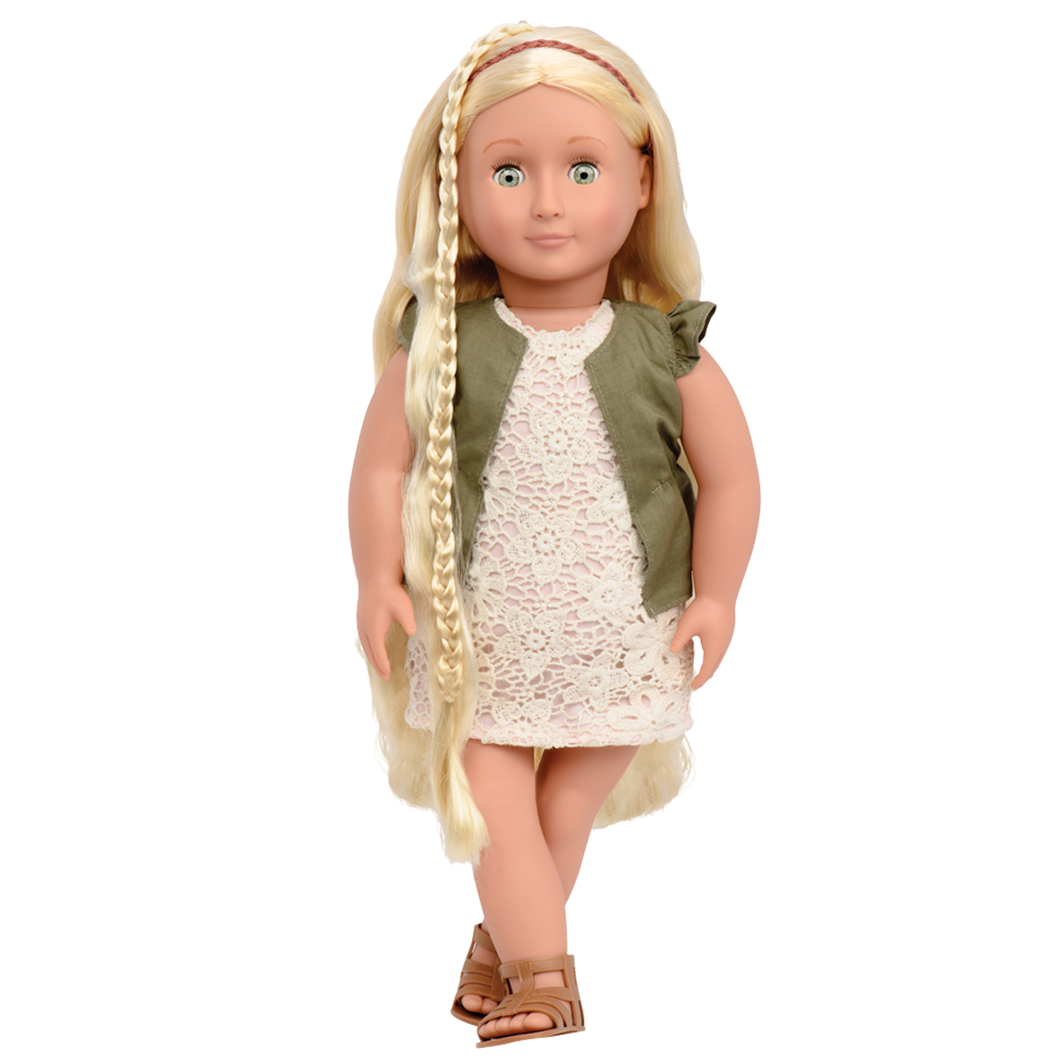 Image of   Our Generation dukke med hår kan vokse, Pia