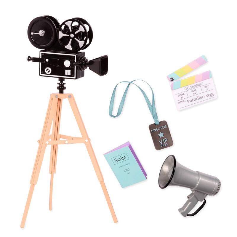 Image of   Our Generation dukketilbehør, filmproduktion