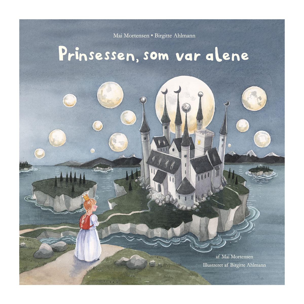Image of   Prinsessen, som var alene