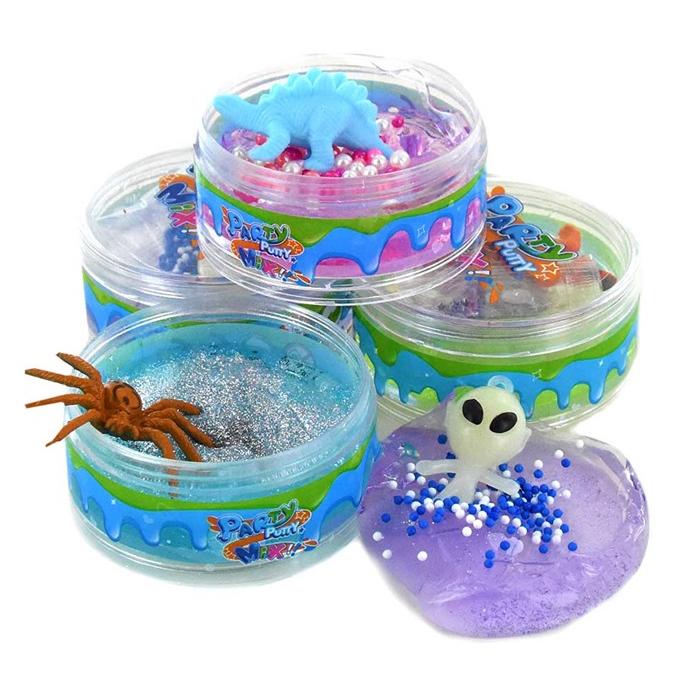 Image of   Putty Party Mix med glitter og figur