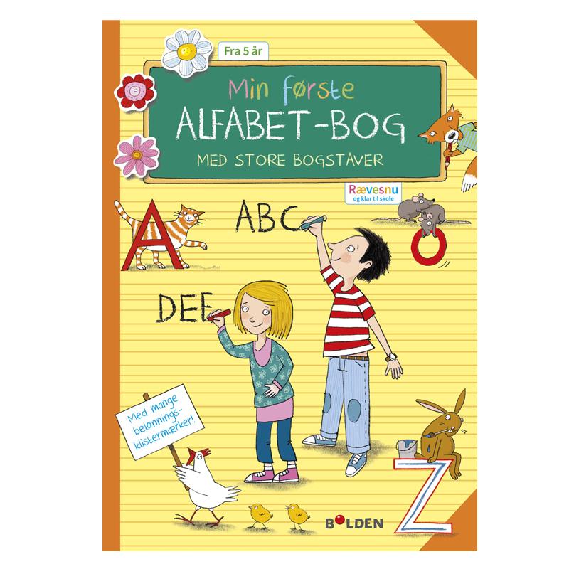 Image of   Rævesnu: Min første alfabetbog