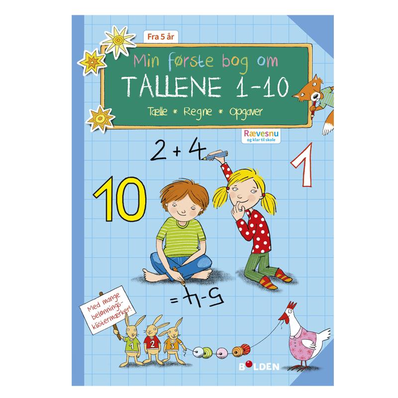 Image of   Rævesnu: Min første bog med tallene 1 - 10
