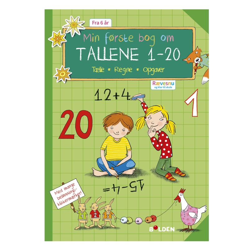 Image of   Rævesnu: Min første bog med tallene 1 - 20