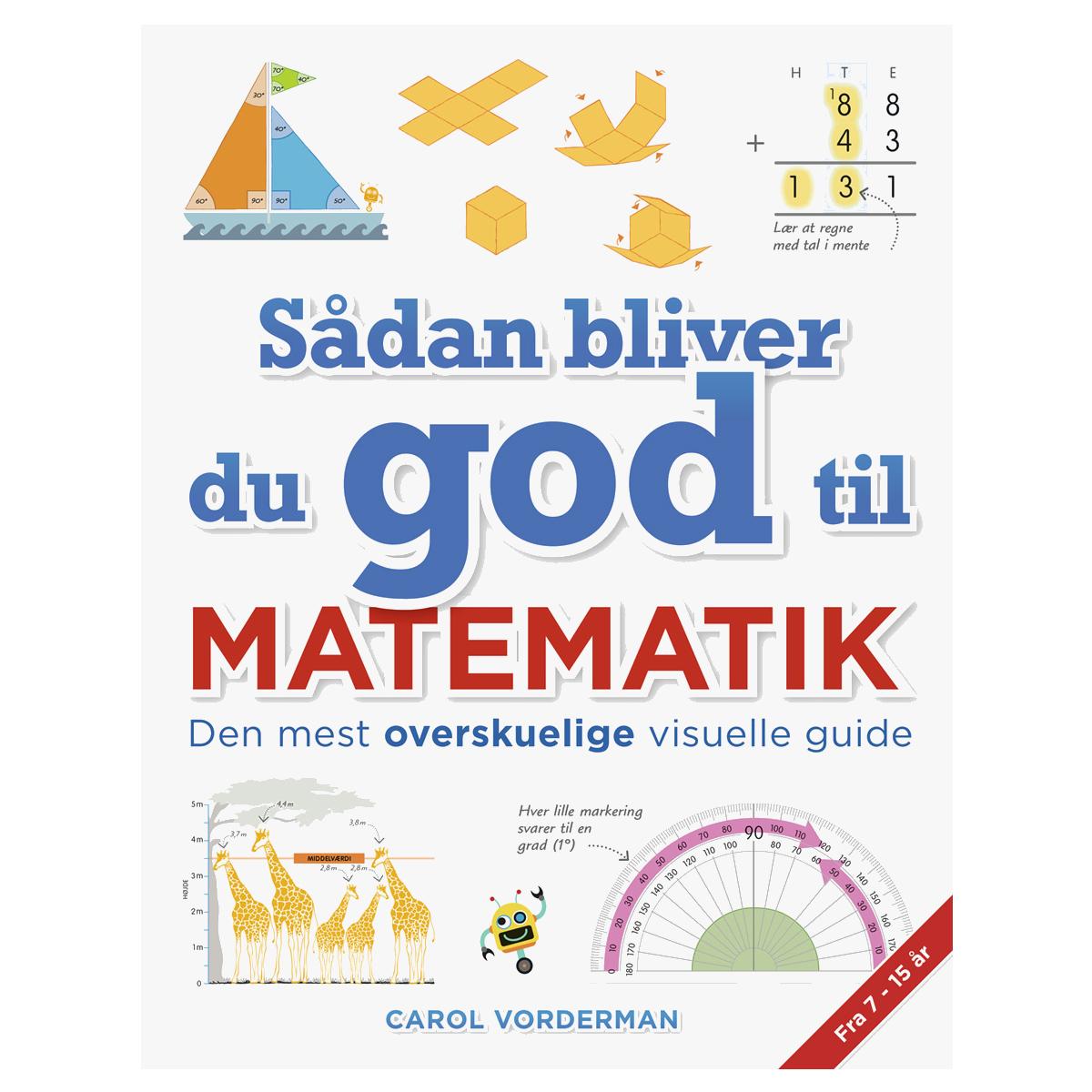 Image of   Sådan bliver du god til matematik