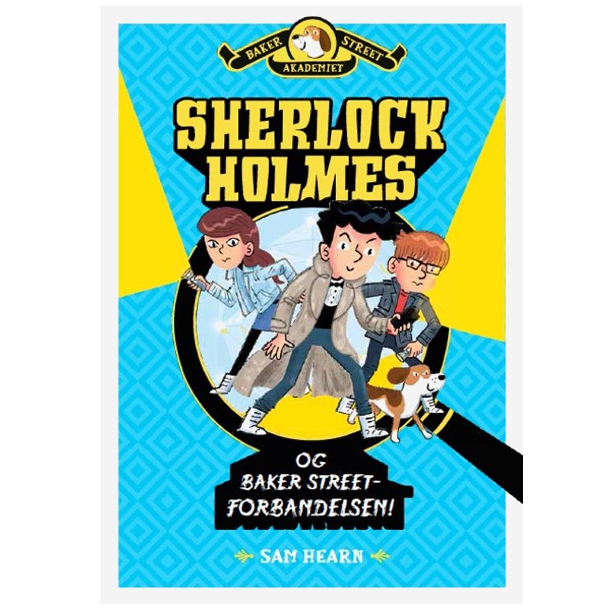 Image of   Sherlock Holmes og Baker Street-forbandelsen (2)