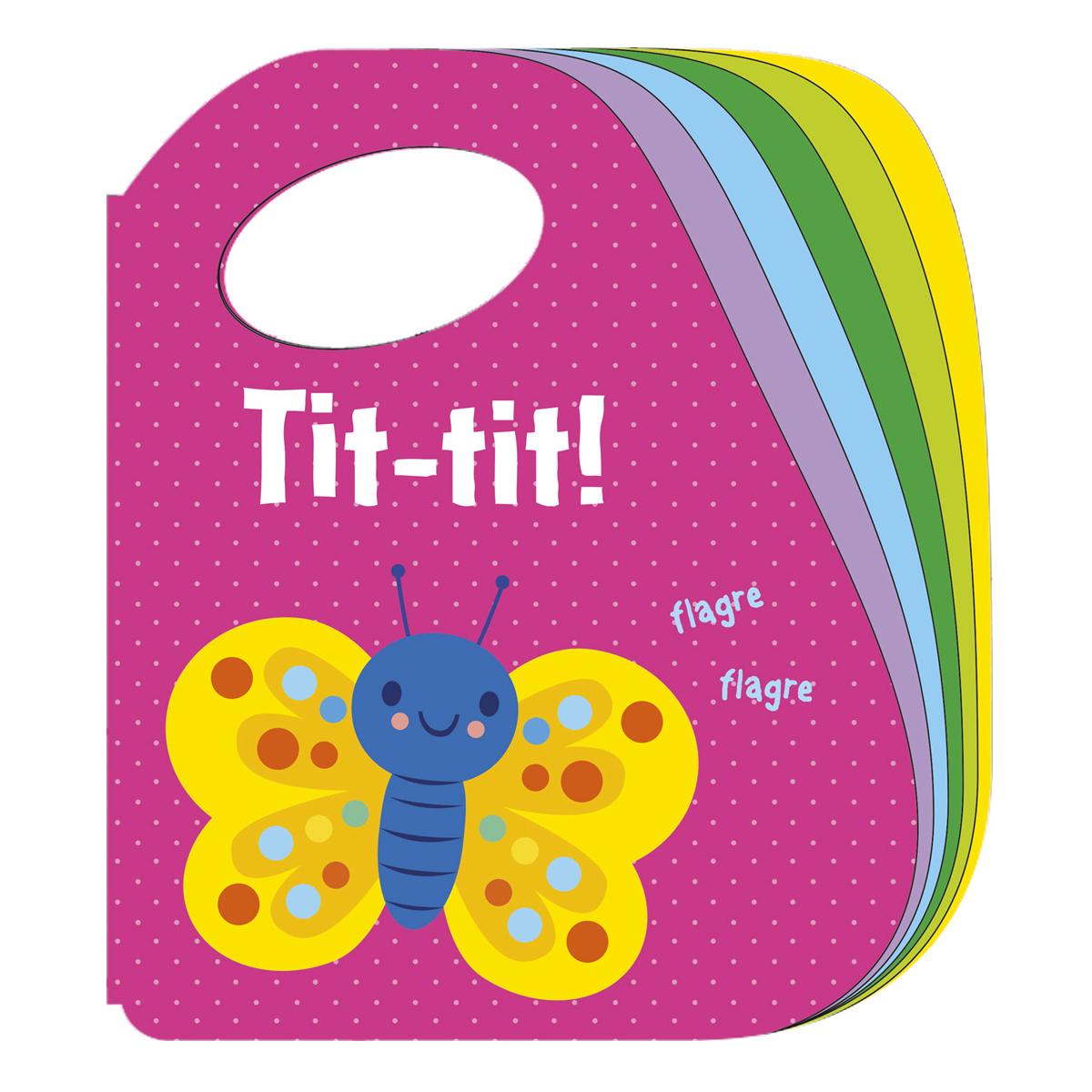 Image of   Tit-tit! Sommerfugl