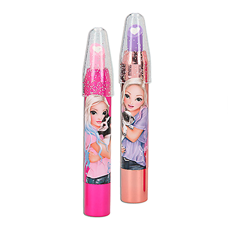 Top Model læbestift viskelæder, pink eller rose gold