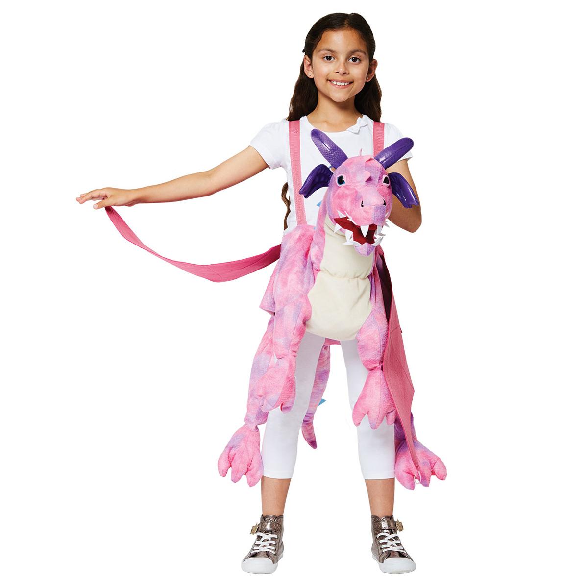 13ad7254ffd Travis udklædning, ride-on pink drage - Travis Udklædning -  Børneneskartel.dk