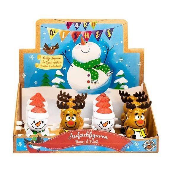Trendhaus træk-op julefigur ass