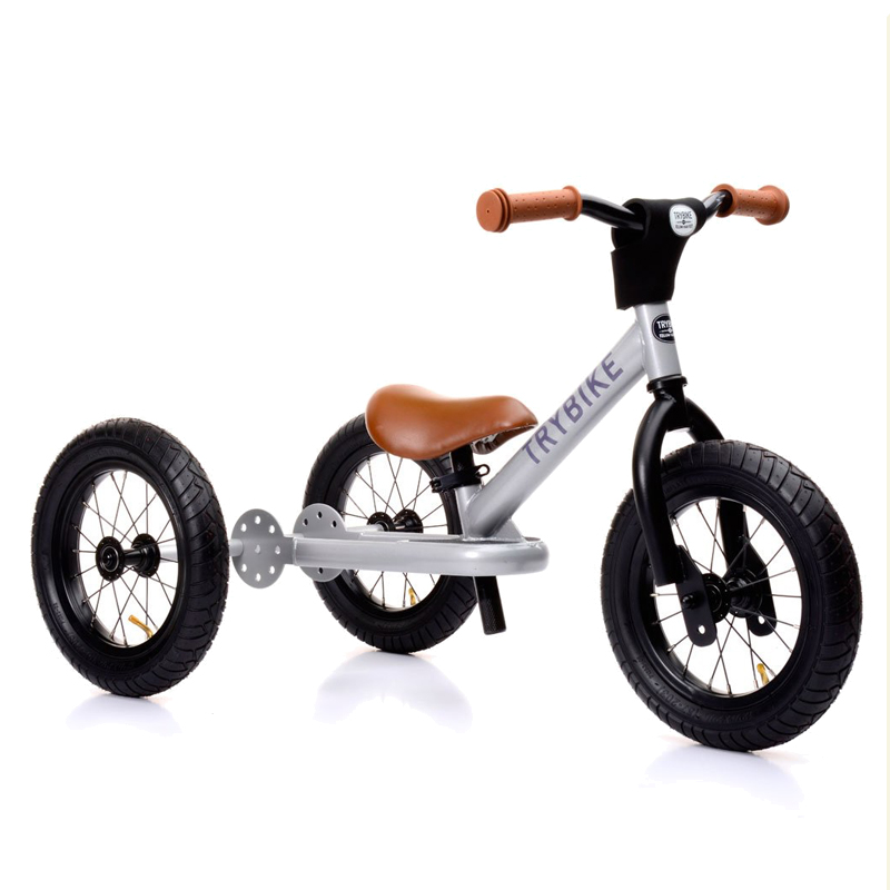 Image of Trybike, Balancecykel - tre hjul - Silver