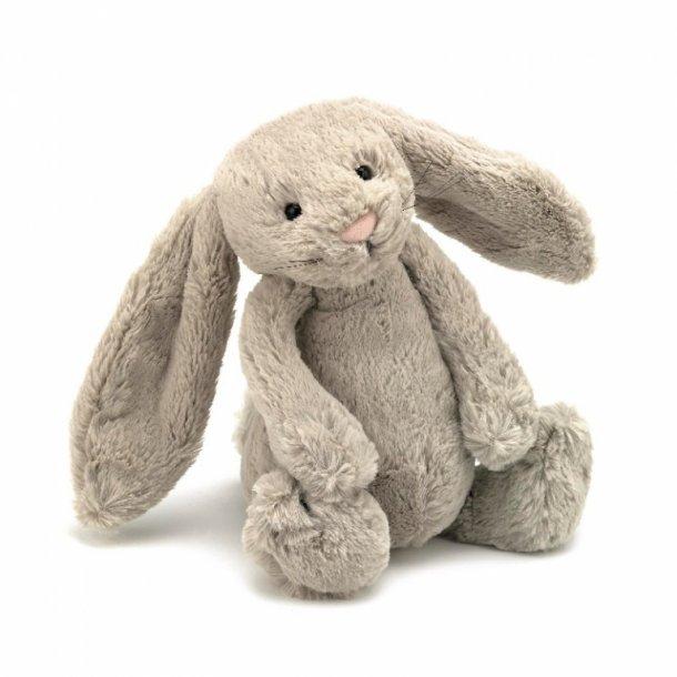 Jellycat bamse, Bashful kanin beige - 31 cm