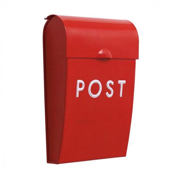 Bruka Design postkasse, mini - rød