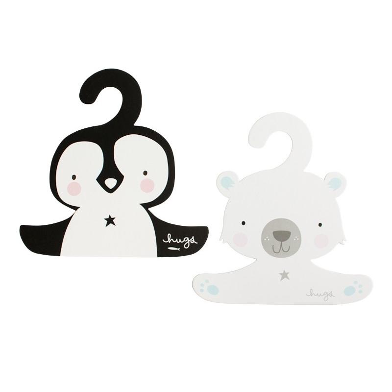 Image of A little lovely company børnebøjler, pingvin og isbjørn