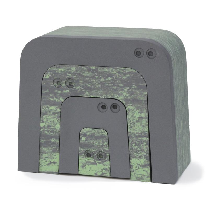 Image of   bObles myresluger, marmor - grøn