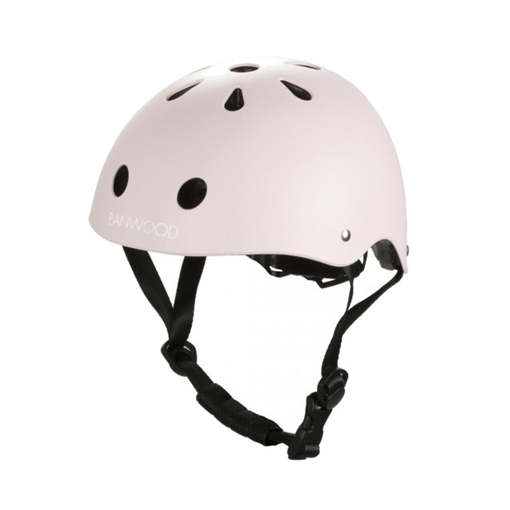 Image of Banwood classic cykelhjelm, mat rosa