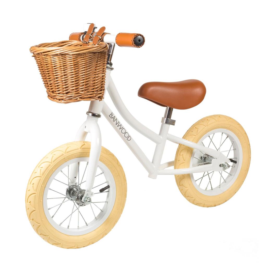 Image of   Banwood løbecykel, First Go - hvid