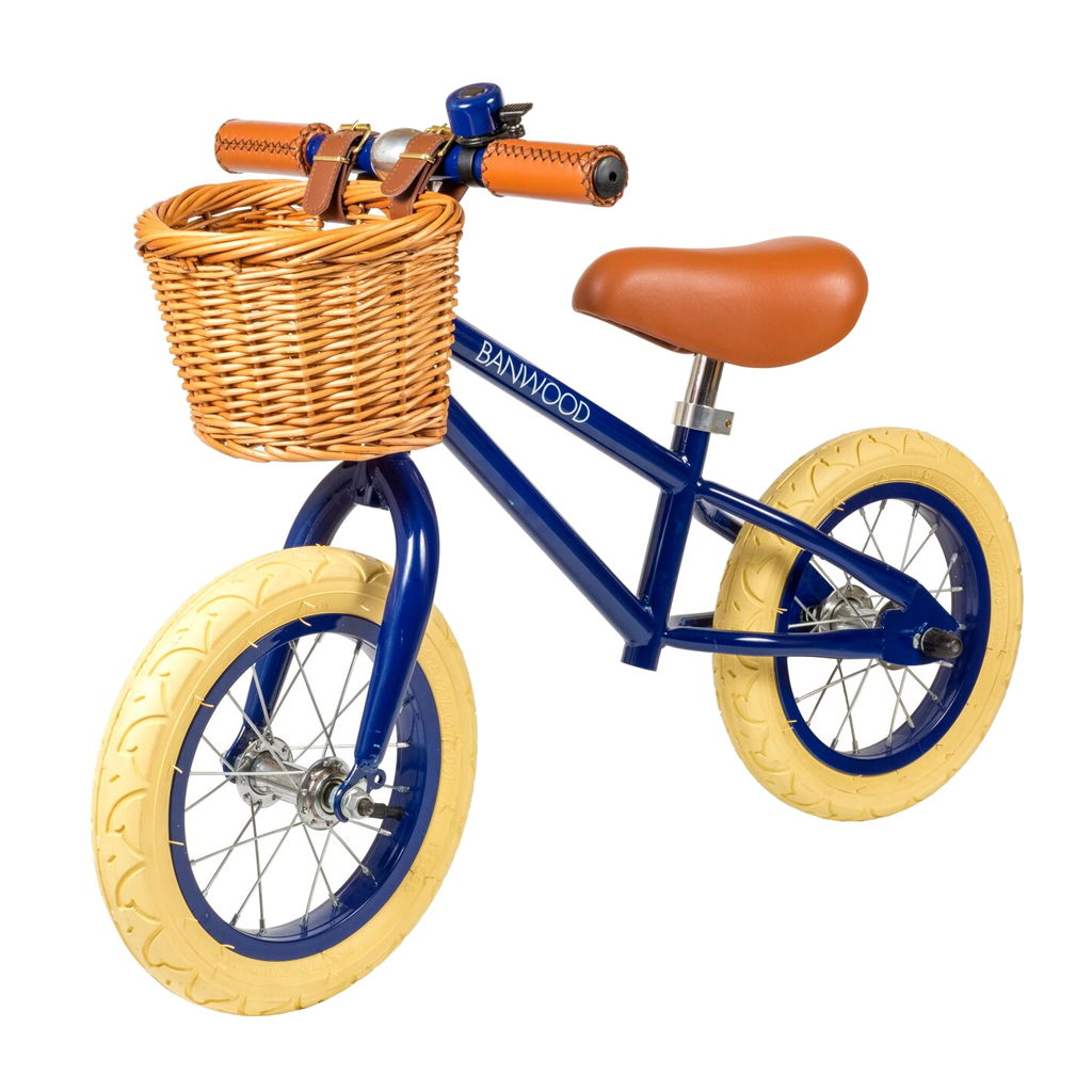 Image of   Banwood løbecykel, First Go - navy
