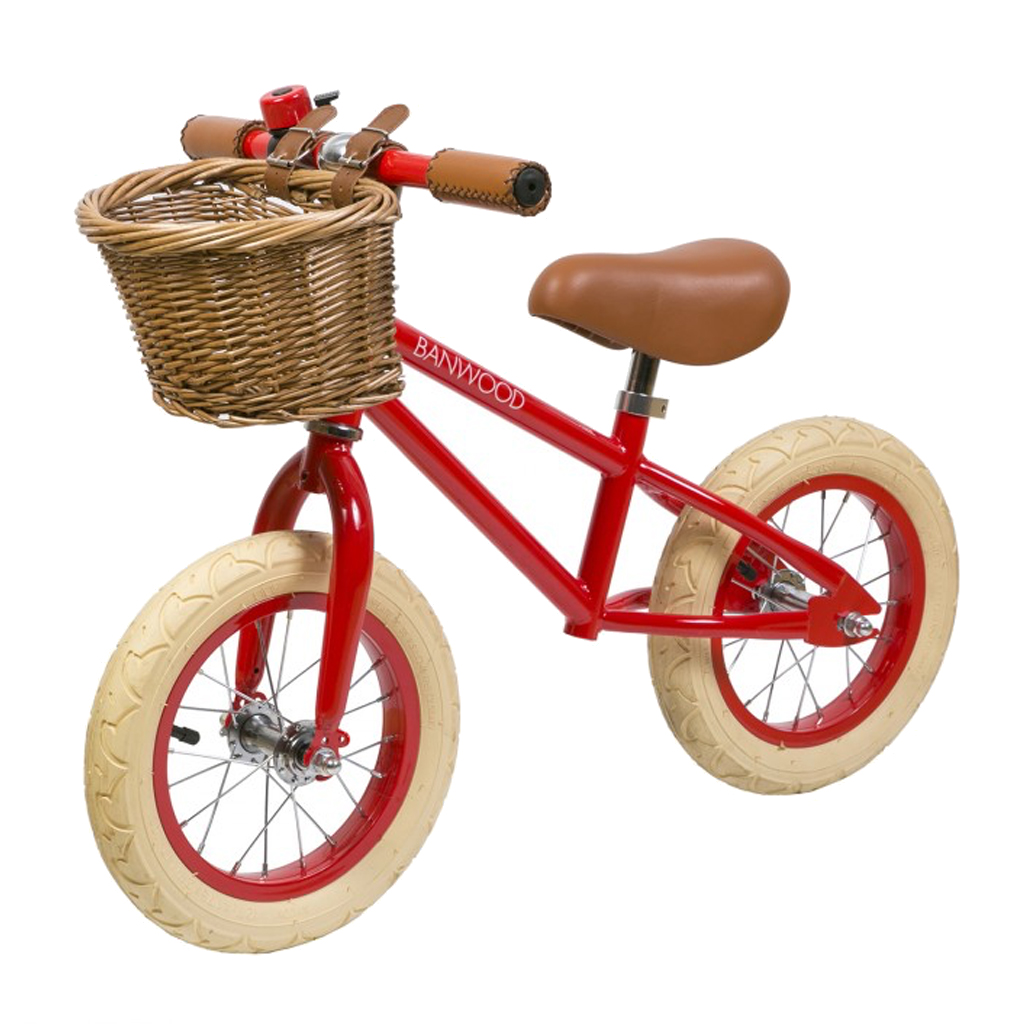 Image of   Banwood løbecykel, First Go - rød