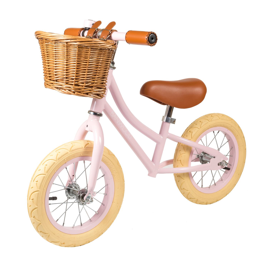 Image of   Banwood løbecykel, First Go - rosa