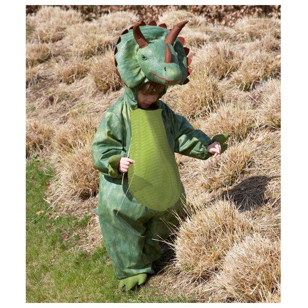 Udklædning dinosaur, 2-8 år
