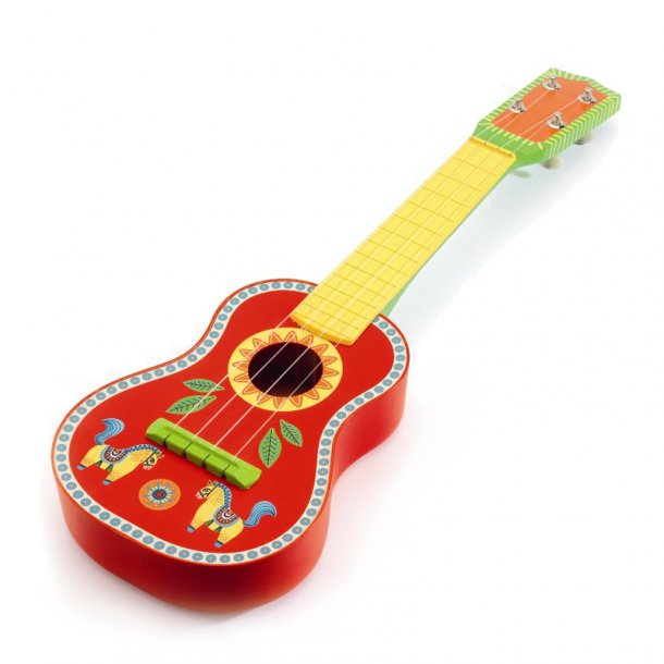 Djeco musikinstrument, guitar - Djeco - Børneneskartel.dk