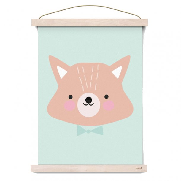 Eef Lillemor plakat A3, Mr Fox