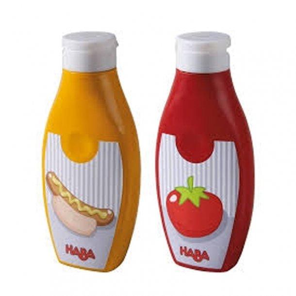 Haba legemad Ketchup og Sennep