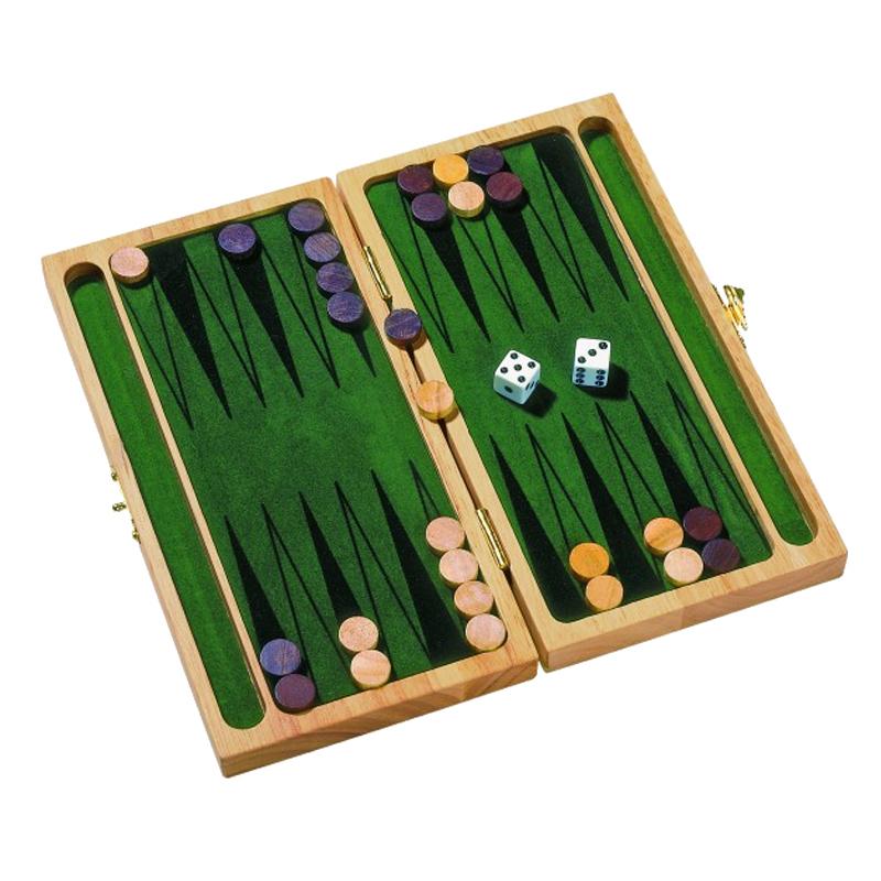 Image of   Backgammon i træ