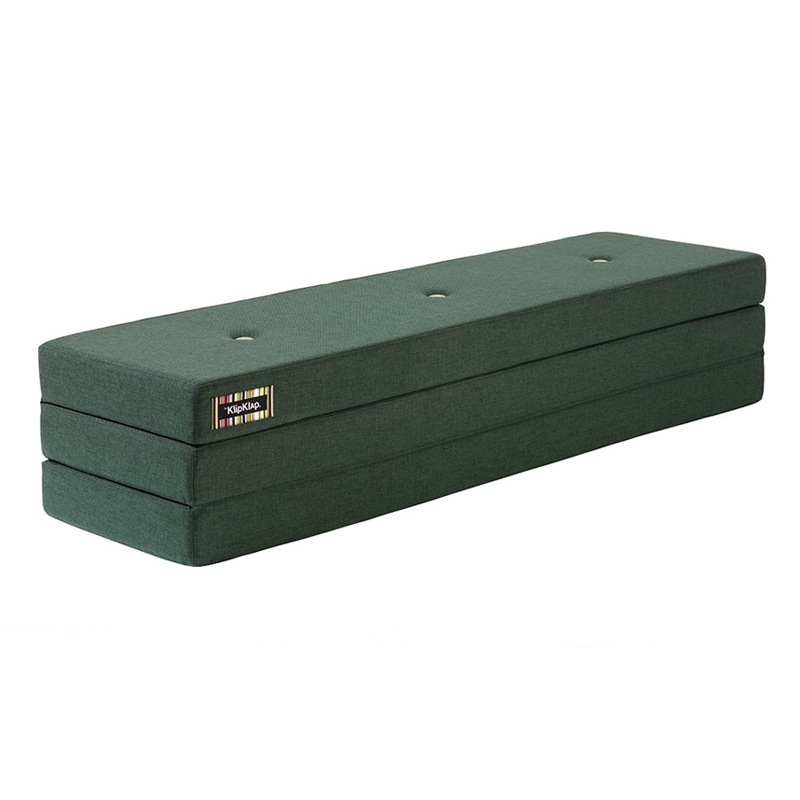 Image of   byKlipKlap 3-fold madras, 180 cm grøn