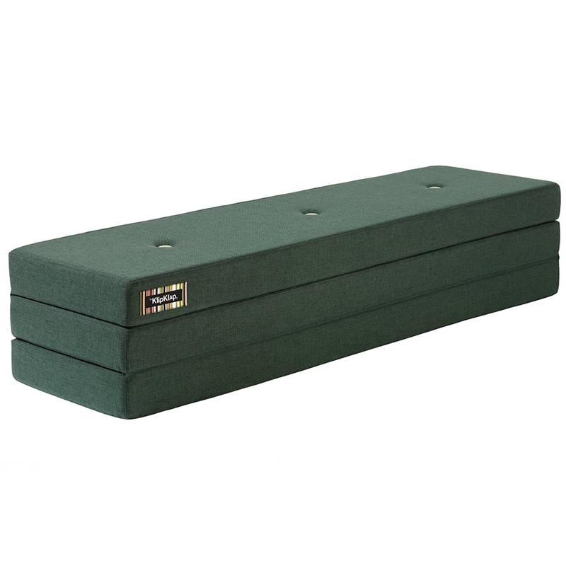 Image of   byKlipKlap 3-fold madras, 200 cm grøn
