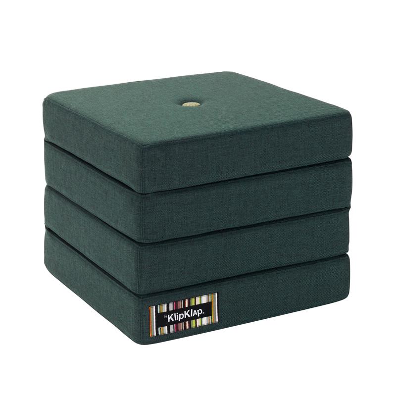 Image of   byKlipKlap 4-fold madras, grøn