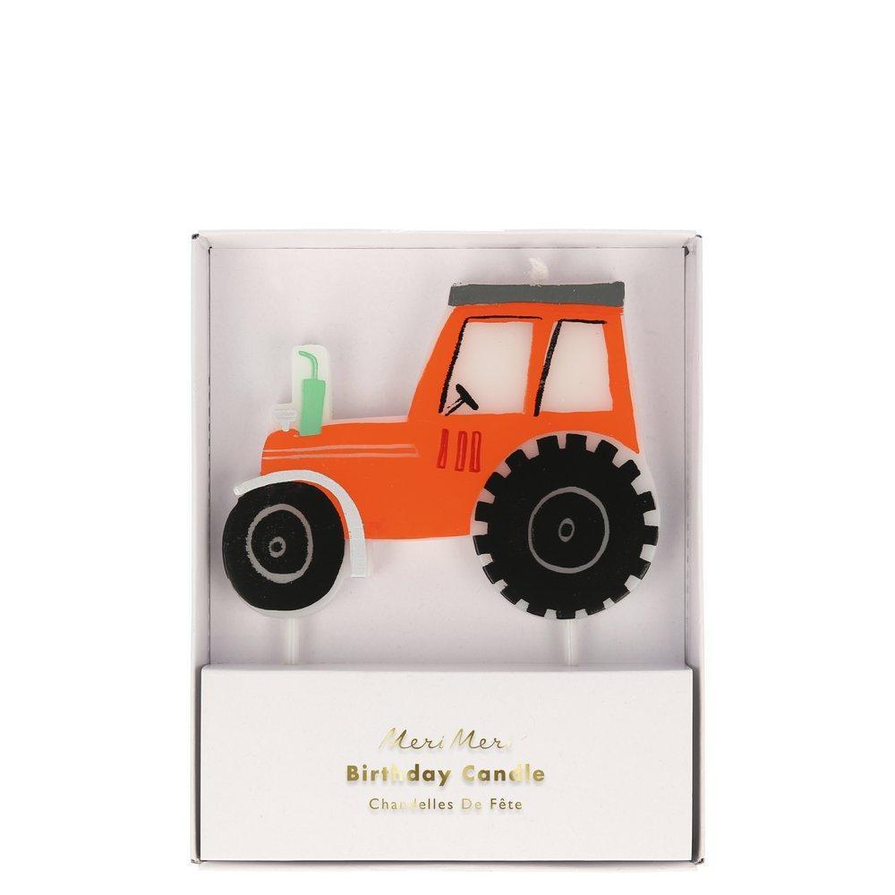 Meri Meri kagelys, traktor
