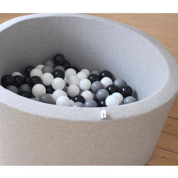 Misioo boldbassin, lysegrå rund