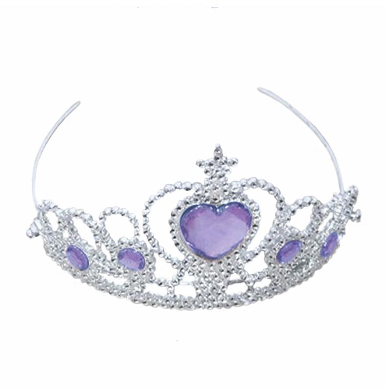 Image of Prinsess diadem, lilla