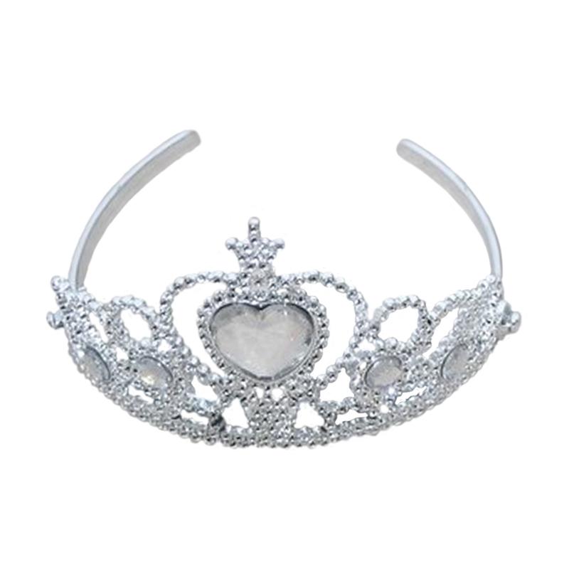 Image of Prinsesse diadem, sølv