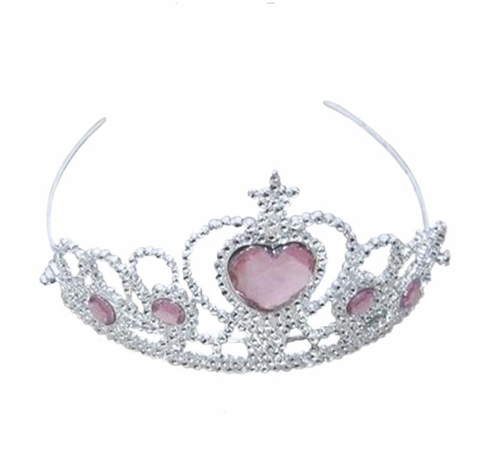 Image of Prinsesse diadem, lyserød