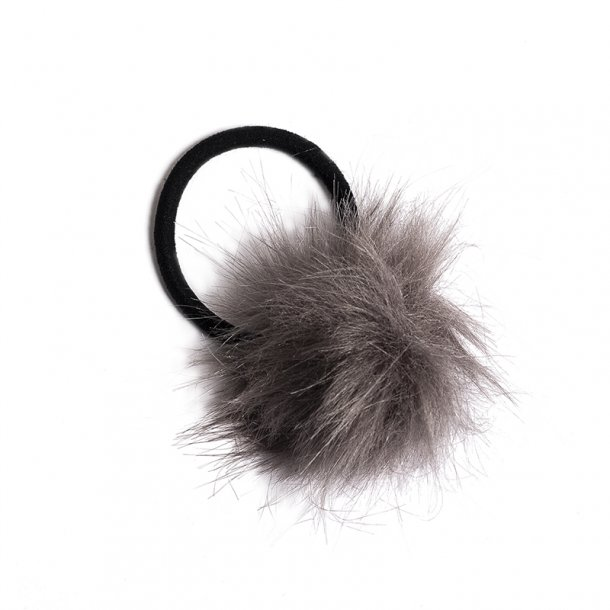 Petit by Sofie Schnoor Grey Faux Fur Sandals | AlexandAlexa