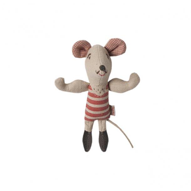 Maileg stærk mus, 12 cm