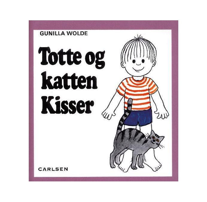 Billede af Totte og katten Kisser